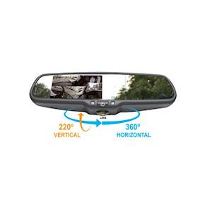 Accele Rear View Mirror – 360 Camera with DVR