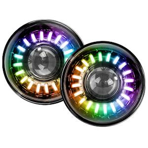 "RS 7"" COLORCMART RGB LED"