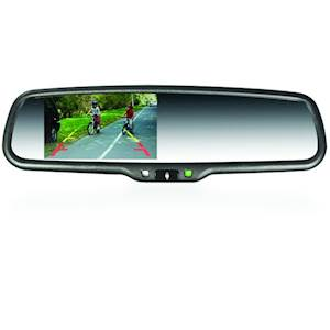 "BM#4.3"" LCD DISPLAY MIRROR W/"