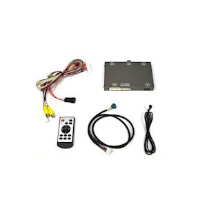 BMW Dual Video Input Interface for 6-button Factory Display Radios