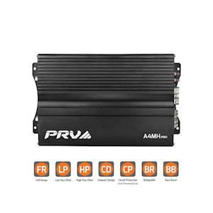 PRV A4MH Pro - 4 Channels Class AB 650WRMS AMP