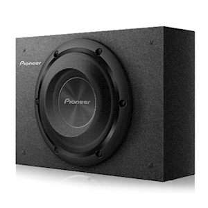 Pioneer 8-Inch Shallow-Mount Pre-Loaded Enclosure - 700W