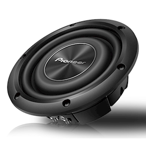 Pioneer 8-Inch Shallow-Mount Subwoofer - 700W