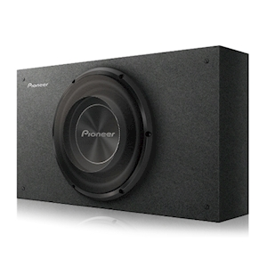 Pioneer 10-Inch Shallow-Mount Pre-Loaded Enclosure - 1200W