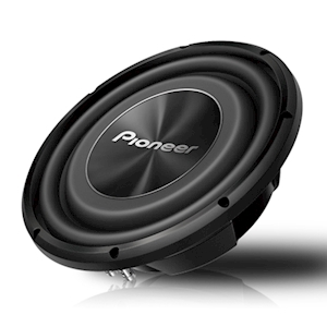 Pioneer 12-Inch Shallow-Mount Subwoofer - 1500W