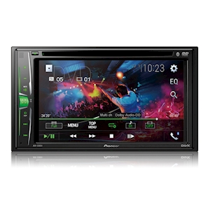 Pioneer 6.2-Inch WVGA Multimedia DVD Receiver