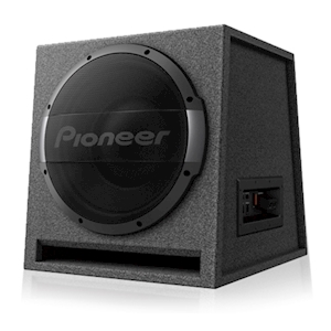 Pioneer 12-Inch Ported Enclosure Active Subwoofer with Built-in Amplifier - 1500W