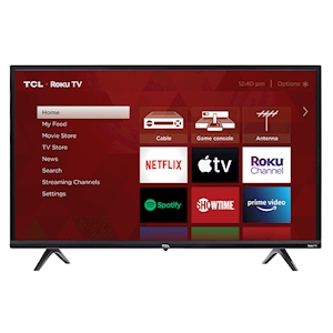 TCL 32-Inch 720p LED Roku Smart TV - 60Hz