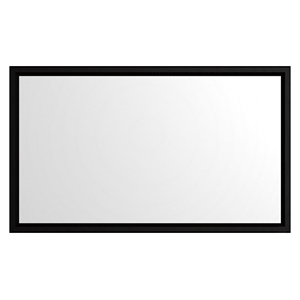 FeedbackAV 92-Inch Fixed Gamma Projector Screen - White