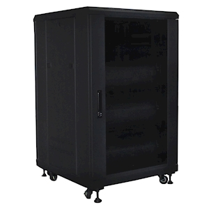 FeedbackAV 12U Equipment Rack - Pre-Assembled