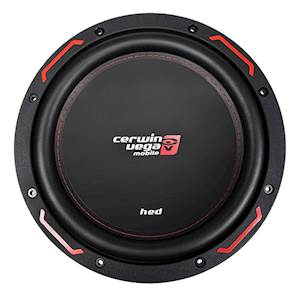 Cerwin Vega HED Series 10-Inch Single 4-Ohm Subwoofer - 1000W