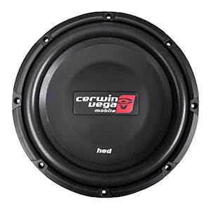 Cerwin Vega HED Shallow Series 12-Inch Dual 4-Ohm Subwoofer 1200W