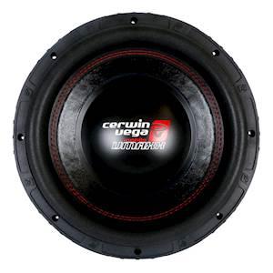 Cerwin Vega 12-Inch Dual 2-Ohm Subwoofer - 1700W