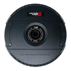 Cerwin Vega 12-Inch Active Powered Subwoofer for Spare Tire Application - 600W