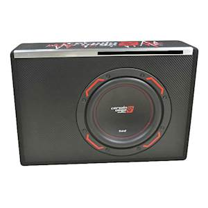 Cerwin Vega HED Series 10-Inch Single Subwoofer in Factory-Tuned Vented Enclosure - 2000W