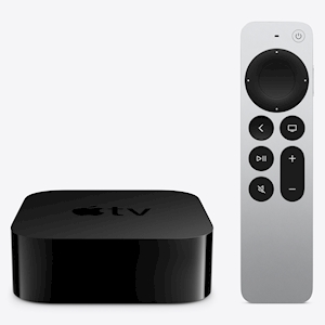 Apple TV 4K with Remote (2021) - 64GB - HDR