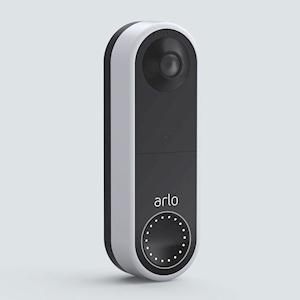 Arlo Wrls Video Doorbell White