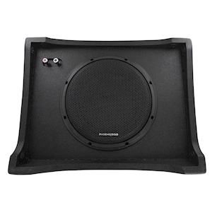 Stinger PhoenixGold 10-Inch Underseat Subwoofer Enclosure for Full-Sized Trucks and Other Vehicles