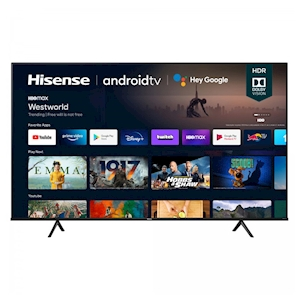Hisense 55-Inch 4K Android Smart TV - Dolby Vision - 120 Motion Rate