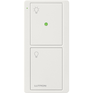 LUTRON#2B GLOSS WH LIGHT ICON