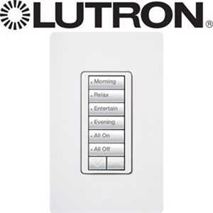 LUTRON RR2 6 BUTTON KEYPAD