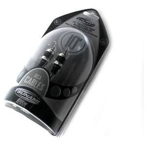 TSU*ELIT 10' BLK SUPERFLEX RCA