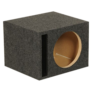"QP SINGLE 12"" PORTED 1"" MDF"