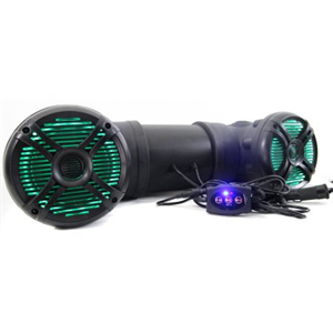"QP 6.5"" LED ATV SPK BT/USB/AUX"