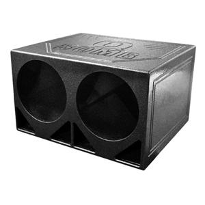 """QBOMB DUAL 12"""" TRUNK BOX"""